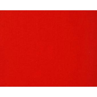 A3 Red Stiffened Felt Sheet for Crafts