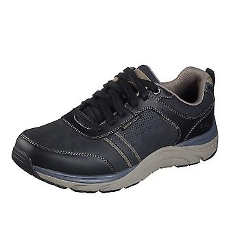 Skechers Sentinel Lunder Men's Trainers In Black