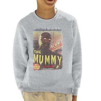 Hammer The Mummy 1959 Film Poster Kid's Sweatshirt