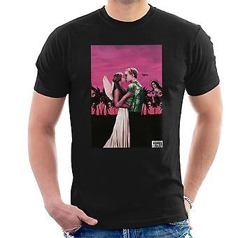 Romeo & Juliet Pink Sunset Men's T-Shirt