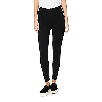 Brand - Daily Ritual Women's Soft French Terry Legging, Black, Small