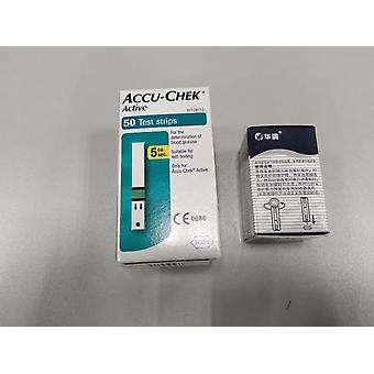 Accu Chek Active Test Strips (geen codering chip)