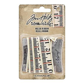Advantus Tim Holtz Riglă Panglică (1yard) (TH93955)