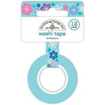 Doodlebug Design Ice Blossoms Washi Tape