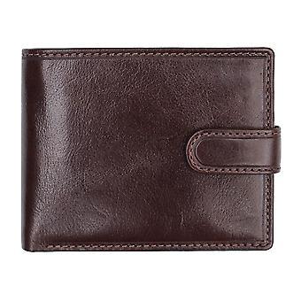 Primehide läder plånbok mens korthållare Notecase RFID blockering Gents 5602