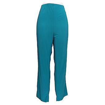 Serengeti Women's Pants Liquid Knit Pull On Green