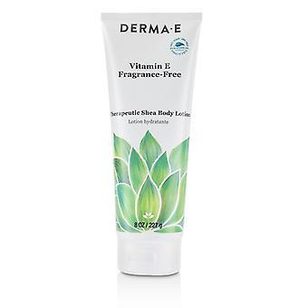 Derma E Vitamin E Fragrance-Free Therapeutic Shea Body Lotion 227g/8oz