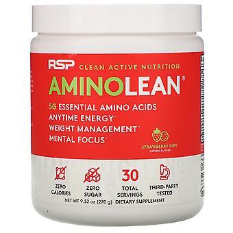 RSP Nutrition, AminoLean, Strawberry Kiwi, 9.52 oz (270 g)