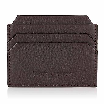 Cocoa Brown Richmond Leather Slim Six Card Holder