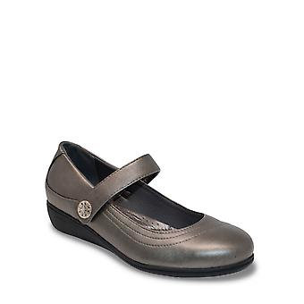 Chums Señoras Dr Keller Wide Fit Bar Zapato Canvey