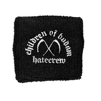 Children of Bodom Hatecrew band logo New Official black Cotton Sweatband