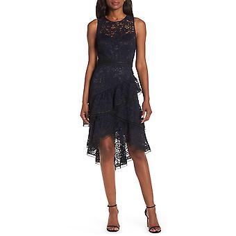 Eliza J | Lace Hi-Low Cocktail Dress