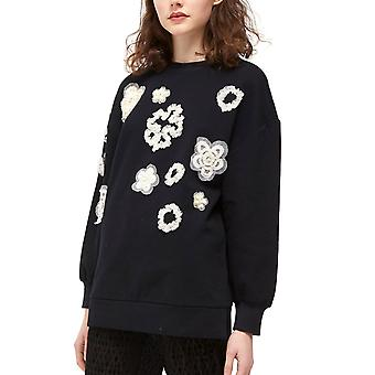 French Connection | Embellished Crew-Neck Top