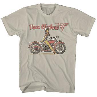 Van Halen T Shirt Pinup Biker Van Halen T-Shirt