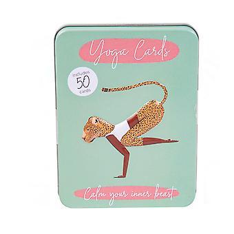 Charakter Yoga Karten