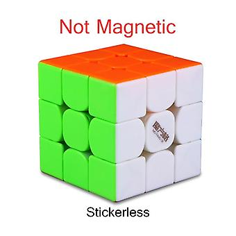 3x3x3 Magnetiska Magic Cube - Stickerless Kub, Pussel Professionellt spel