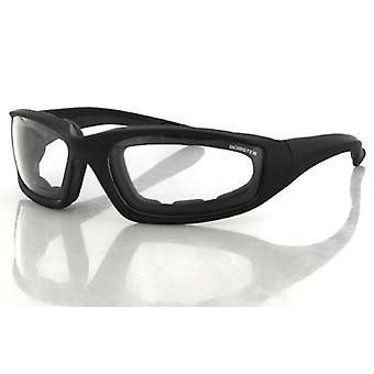 Balboa ES214C Black Frame Foamerz 2 Sunglass - Anti-Fog Clear ANSI Z87