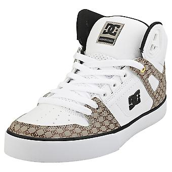 DC Shoes Pure High-top Wc Se Sn Mens Fashion Trainers in Black White