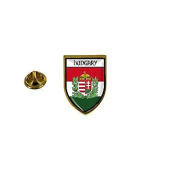 mänty mänty merkki mänty pin-apos;s matkamuisto kaupungin lippu maa vaakuna Unkari R2