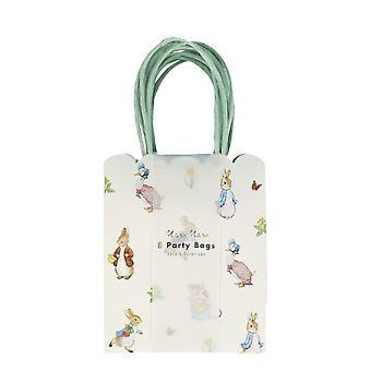 Meri Meri Peter Rabbit & Ystävät Party Lahjapussi x 8