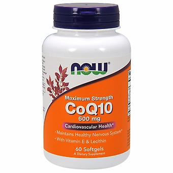Now Foods CoQ10, 600 mg, 60 Softgels