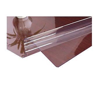 2PCS Home Téglalap PVC asztal védő 31x31 hüvelyk tiszta 1,5 mm vastag