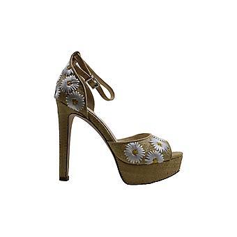 Jessica Simpson Womens Beeya4 Peep Toe Casual Ankle Strap Sandals