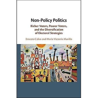 Ikke-politik politik: Rigere vælgere, fattigere vælgere, og diversificering af valgstrategier
