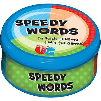 Jogo divertido de família Speedy Words