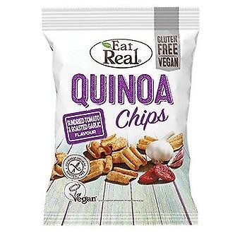 Eat Real Quinoa Sundried Tomato & Garlic Chips 30g x12