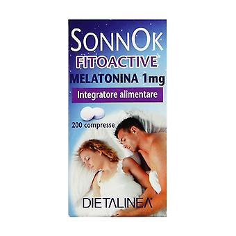 SonnoK Fitoactive Melatonin 1 mg 200 tablets