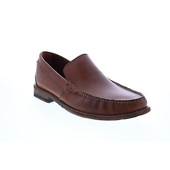 Clarks Pace Barnes  Mens Brown Loafers & Slip Ons Penny Shoes