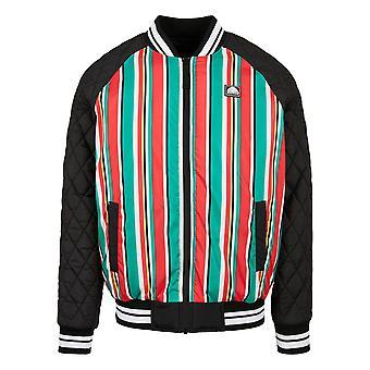 Southpole Men's College Jacket Stripe