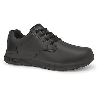 Shoes For Crews Mens Saloon II Leather Shoes