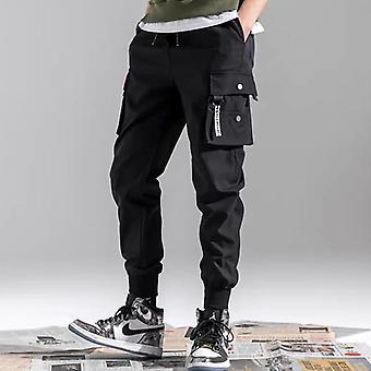 Japanese/korean Multi-pocket Overalls Men's Clothing Pants