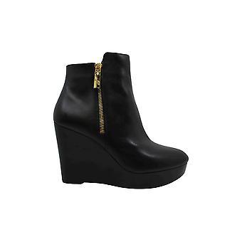 مايكل مايكل كورس النساء Alane الجلود أغلقت أحذية أزياء الكاحل