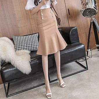 Φούστες γυναικών&apos,s, συν το μέγεθος, midi ελαστικό bodycon, φούστα ισχίων πακέτων