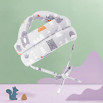 Baby Infant Småbarn Hjälm Barn huvud kudde kör promenader crawing skyddshjälm