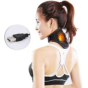Usb Electric Heating Neck Protector With Moxibustion Safety Voltage Electric Heating Far Infrared