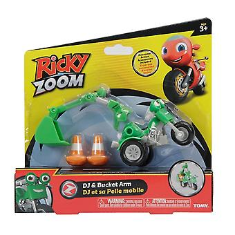 Ricky Zoom DJ & Bucket Arm Vehicle & Action Accessory Set