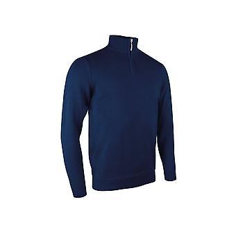 Glenmuir Devon Zip-neck Cotton Sweater GM081