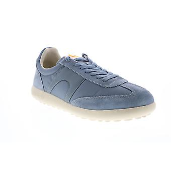 Camper Pelotas XLF  Mens Blue Canvas Euro Sneakers Shoes