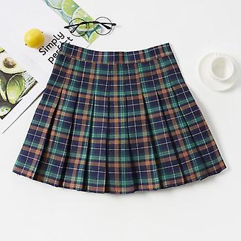 Υψηλή μέση γυναίκες πτυχωμένες φούστες