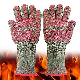 800 Celsius Degree Cut-resistant High-temperature Gloves Anti-bright Fireproof