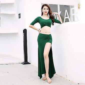 المرأة البطن الرقص التدريب الملابس سبانديكس ملابس زي فئة ارتداء أعلى الورك
