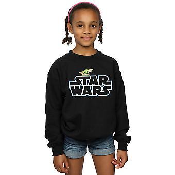 Star Wars tytöt Mandalorian lapsen logo pusero