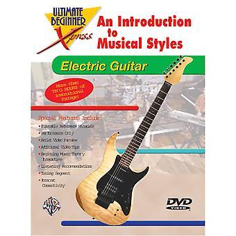 Ultimate Beginner Xpress: Un'introduzione agli stili musicali per chitarra elettrica