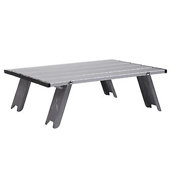 Outdoor Ultralight Backpacking Table BBQ Picnic Desk Folding Camping Table Portable Aluminum alloy Family Party Garden Furniture