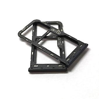 Sim Tray Holder Card Slot Adaptateur de fente Pièces de réparation pour Zte Blade V9 Vita