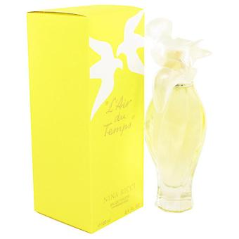 L'air Du Temps Eau De Toilette Spray With Bird Cap By Nina Ricci 3.3 oz Eau De Toilette Spray With Bird Cap